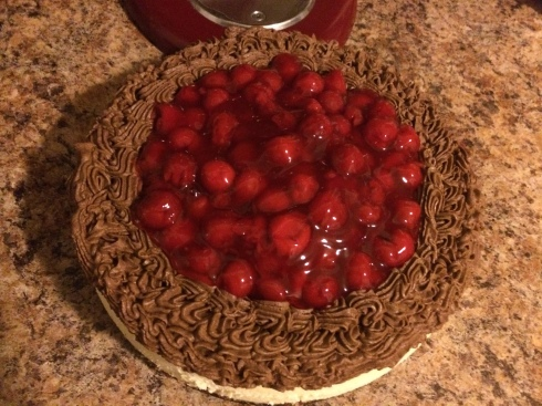 Cheesecakewithganacheandcherries2