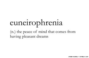 Euneirophrenia