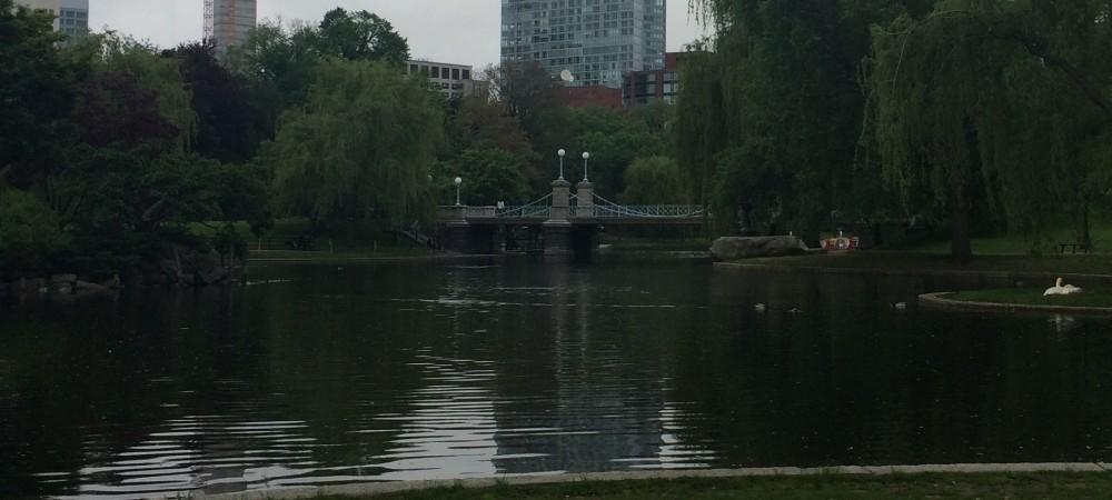 Boston, MA World's Smallest Suspension Bridge