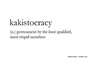kakistocracy