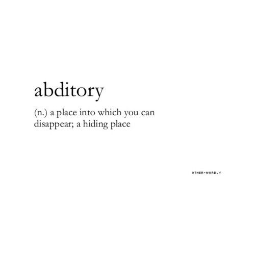 abditory