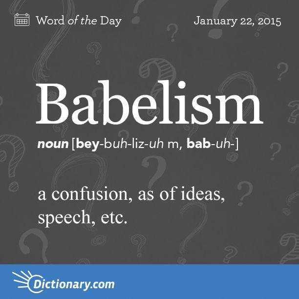 babelism