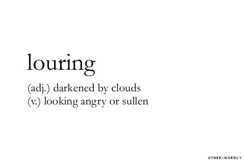 louring
