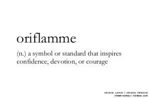oriflamm